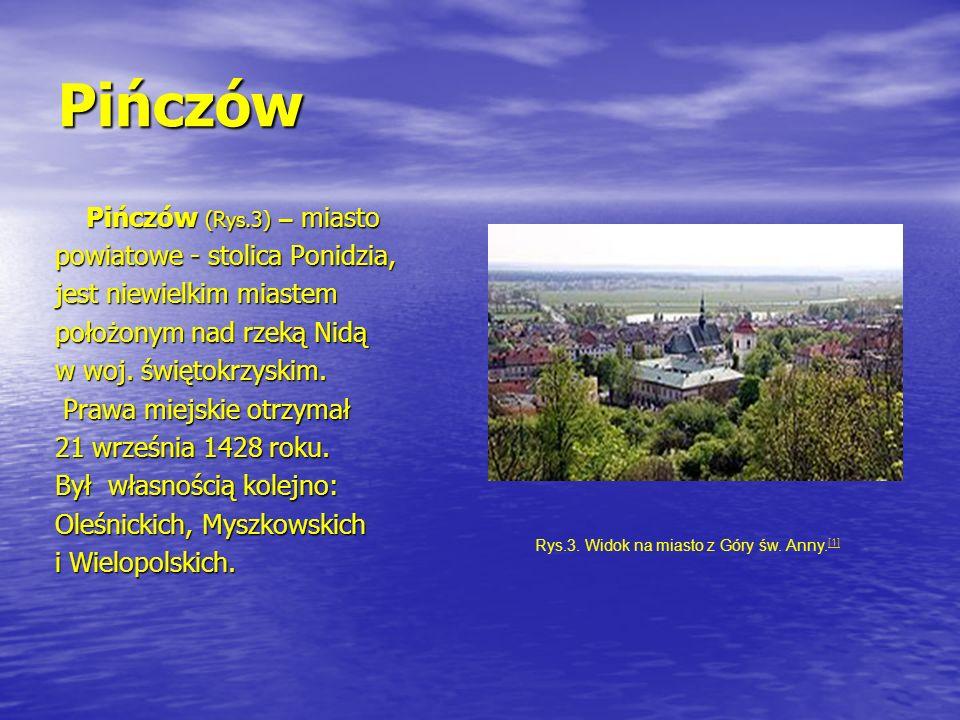 Rys.3. Widok na miasto z Góry św. Anny.[1]